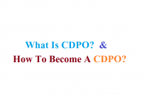 What Is CDPO?  And How To Become A CDPO?